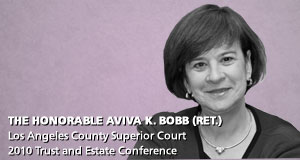 The Honorable Aviva K. Bobb (Ret.)