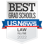 U.S. News & World Report: Best Grad Schools (Law) 2017