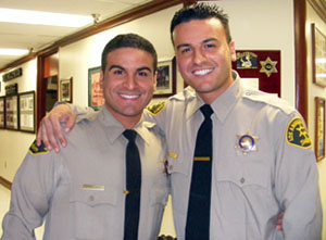 Shervin Lalezary and his brother, Shawn