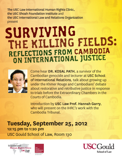 Surviving the killing fields